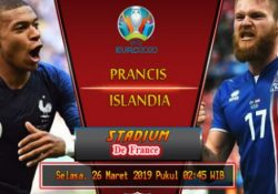 streaming prancis vs islandia